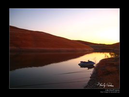 Lake Powell Sunrise by Caligari-87