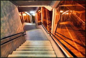 Angled Stairs.. by Exparte-se
