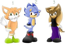 Sonic fan characters adoptables 3 by Runnie-the-cheetah