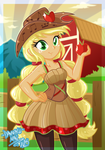 Friendship Through The Ages: Applejack by DANMAKUMAN