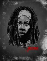 Michonne by Joey-Zero