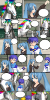 MMD Comic Contest by allyirenejean