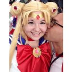 Kissing Sailor Moon Selfie by CourtneyMonroe