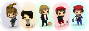 TDW: chibi tamers by firstfarewell
