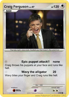 Craig ferguson runs like hell by Craig-FurgusonPLZ