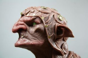 goblin shaman  11 cm material monster clay by giolord11