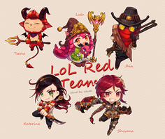 Red team ! by silveheu
