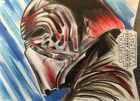 Kylo Ren by AIart
