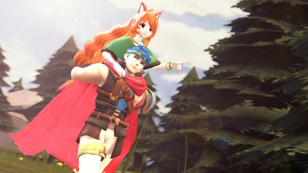 |SFM|FE:RD/PoR|Gift| Look Over There! by UniTheNep