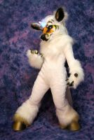 Unicorn Fursuit Full Front by Beetlecat