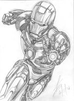 Iron Man by Theamat