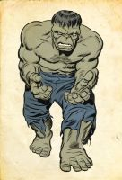 Jack Kirby Hulk by Simon-Williams-Art
