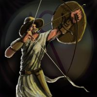 Carthaginian archer by LordGood