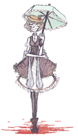 OC: Iodine (Day Outfit) by Chiming-Ribbon