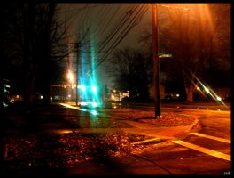 Saturated Street by partyboy9289