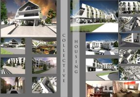 Collective housing 3D by vssh
