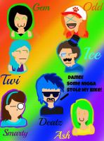 ~ Mustached Swagga Muffins~ by Gemmy2Shoes