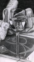 Wine glass by azzza