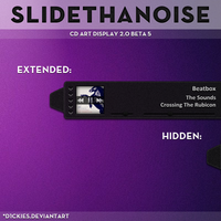 SlideThaNoise - CD Art Display by d1ckies