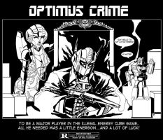 Optimus Crime by KR-Whalen
