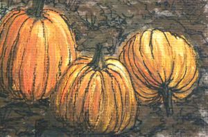 muddy pumpkins by pumpkinflavoredpaint