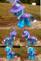 Trixie sculpture by VengefulSpirits