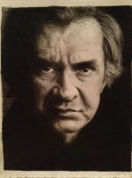 Johnny Cash by allixelaine