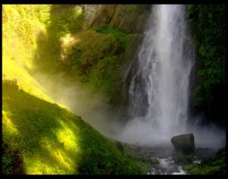 Misty Falls by Anthony-aggro