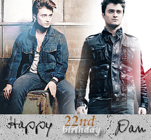 Daniel Radcliffe's 22nd bday by CrampTwins02
