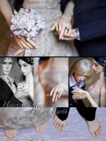 WINTER WEDDING PART I: THE COUPLE by Katyok