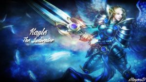 LoL - BattleBorn Kayle Wallpaper ~xRazerxD by xRazerxD