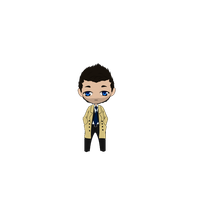 Castiel Animation|NOW WITH COLOUR| by NellyMonster