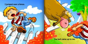 """Page from """"Bull"""" story by intrepica"""