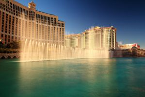 Bellagio Fountains by Celem