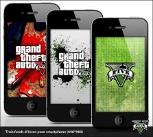 GTA V - Wallpaper for iPhone by BryaaN