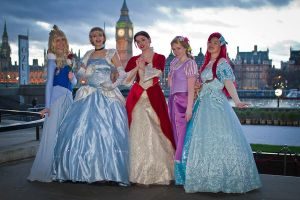 Princesses in London by FuriePhoenix