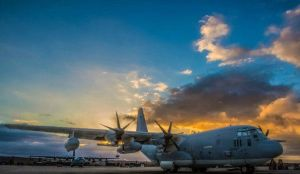 Two C-130s by SamanthaMitchell