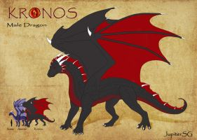 Dragon Kronos by Jupiter-SG