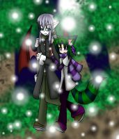 .:Vampire Alex X Maddy 2:. by camilleartist132
