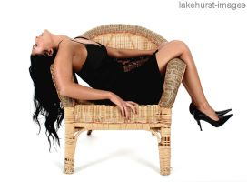 Linda sleeping in the chair by lakehurst-images