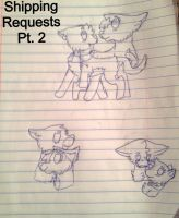 Shipping Requests Pt. 2 by Soulqat