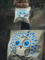 Owl Tote tutorial by ivan-bliznak