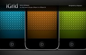 iGird - iPhone retina Wallpaper by infopower