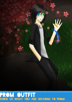 HH Prom: Raiden by Nepeta132