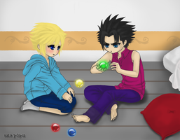 Young Hearts: Cloud x Zack by vallarii