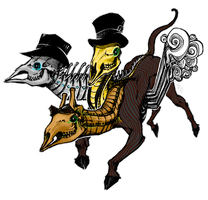 Steam Powered Cerberus by theblackbutterfly