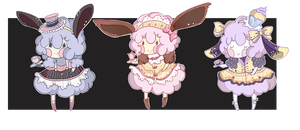 Adoptable Tea Time Sheep 2/3 *OPEN* by Dornenspieler