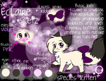 New Character: Eclaire by Lunachu3
