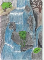 Waterfall finished version. by TheOmNom