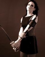 Girl with Sword Stock 6 by kristyvictoria
